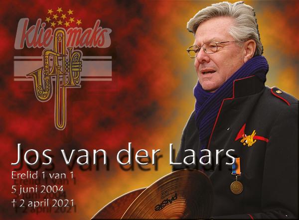 Ons erelid Jos v.d Laars is op 2 april overleden.